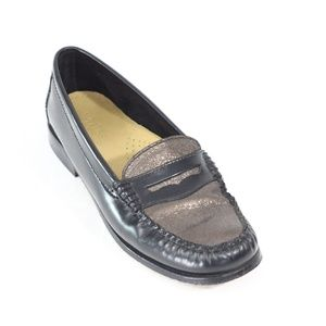 Bass Weejuns Penny Loafers Women Leather Shoe